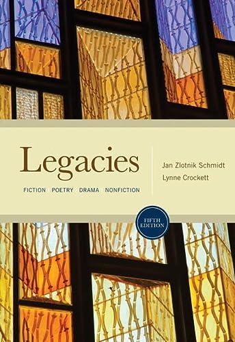 9780495898030: Legacies: Fiction, Poetry, Drama, Nonfiction