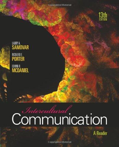 9780495898313: Intercultural Communication: A Reader
