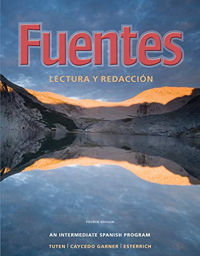9780495898641: Fuentes: Lectura y redaccion (World Languages)