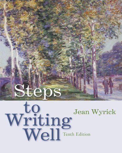 9780495899075: Steps to Writing Well (with 2009 MLA Update Card)