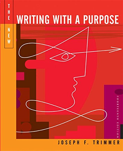 9780495899655: The New Writing with a Purpose (with 2009 MLA Update Card)