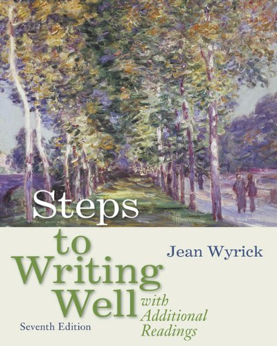 9780495899761: Steps to Writing Well with Additional Readings (with 2009 MLA Update Card)