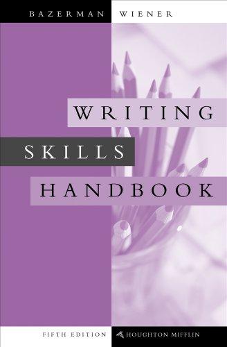 9780495899808: Writing Skills Handbook (with 2009 MLA Update Card)