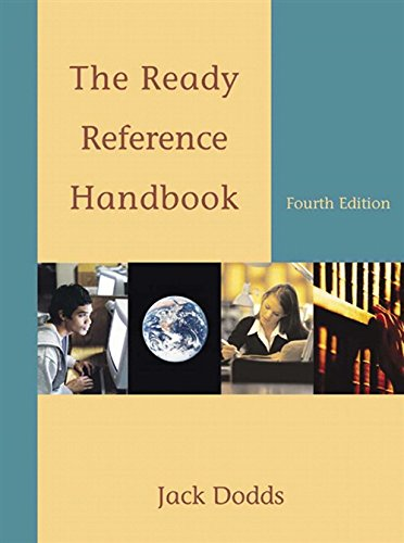 9780495899846: The Ready Reference Handbook (with 2009 MLA Update Card)