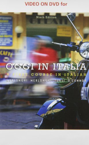 9780495900016: Video on DVD for Merlonghi/Merlonghi/Tursi/O'Connor's Oggi In Italia