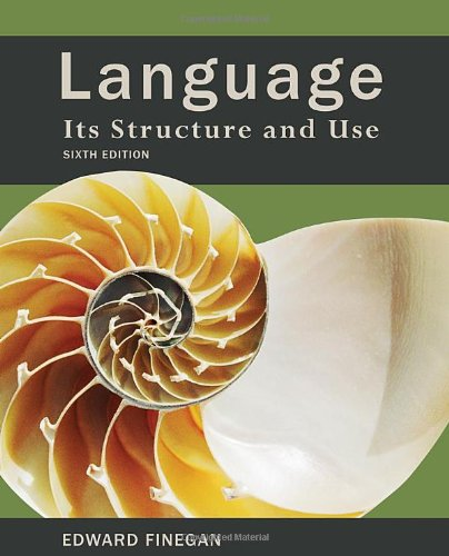 9780495900412: Language: Its Structure and Use