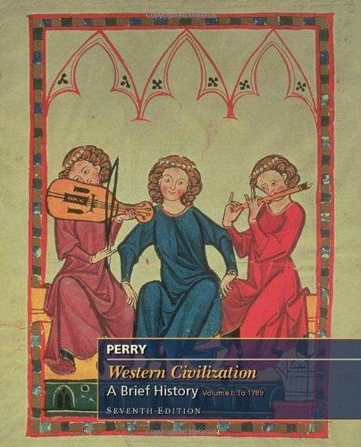 9780495901174: 1: Western Civilization: A Brief History, Volume I