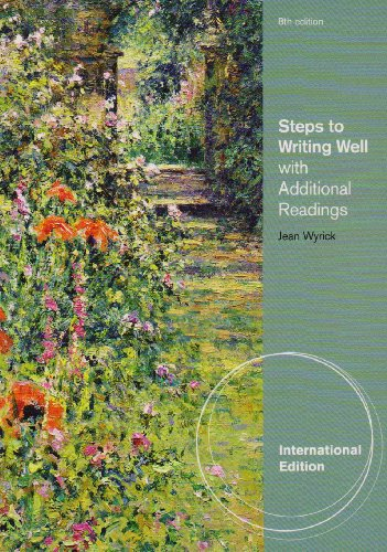 9780495901501: Steps to Writing Well with Additional Readings, International Edition