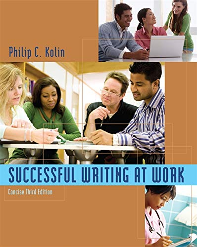9780495901945: Successful Writing at Work: Concise Edition