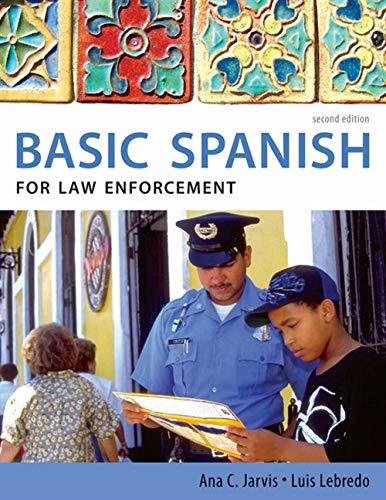 9780495902539: Basic Spanish for Law Enforcement