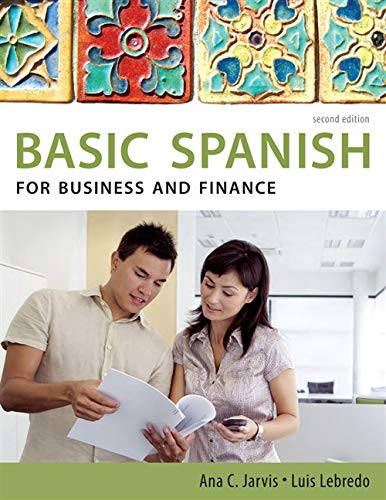 9780495902652: Spanish for Business and Finance: Basic Spanish Series (World Languages)