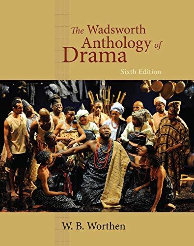 9780495903239: The Wadsworth Anthology of Drama, Revised Edition