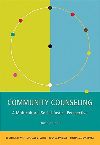 9780495903352: Community Counseling: A Multicultural-Social Justice Perspective (SW 381T Dynamics of Organizations and Communities)