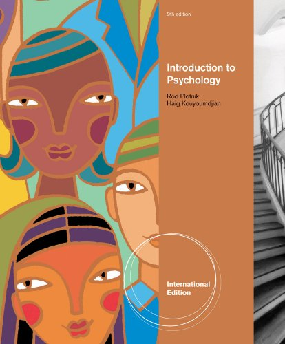 9780495903420: Introduction to Psychology, International Edition