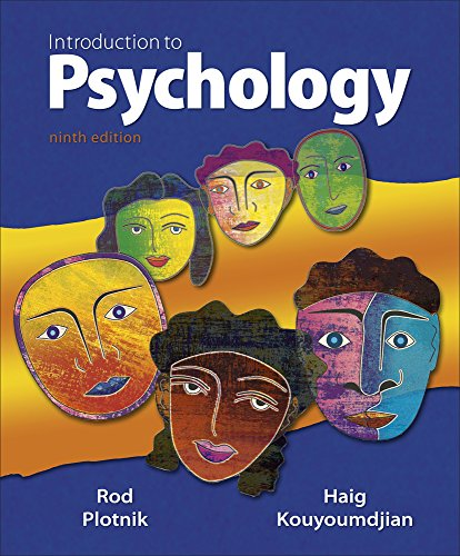 9780495903451: Cengage Advantage Books: Introduction to Psychology