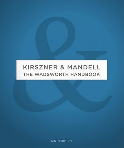 9780495904472: The Wadsworth Handbook Instructor's Edition