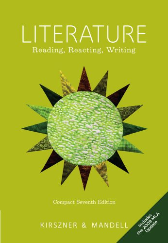 9780495904557: Literature: Reading, Reacting, Writing, 2009 MLA Update Edition
