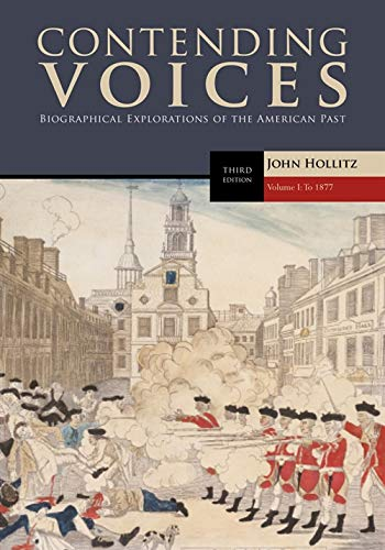 9780495904724: Contending Voices: To 1877 v. 1
