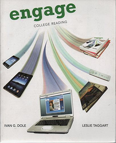 Aie Engage College Reading: Ivan G. Dole