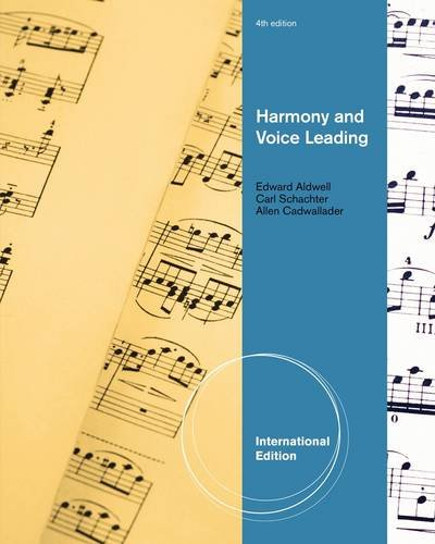 9780495905424: Harmony and Voice Leading