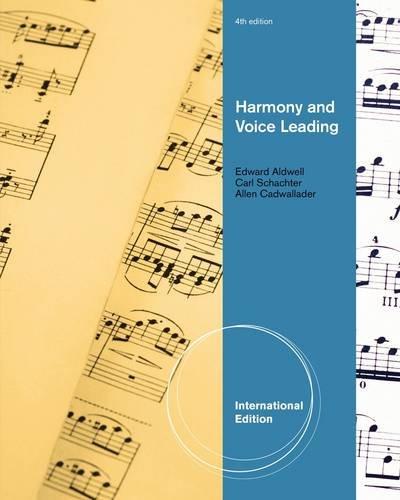 9780495905424: Harmony and Voice Leading