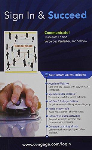 Premium Web Site, eBook, SpeechBuilder ExpressTM, Audio: Verderber, Rudolph F.,