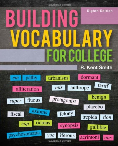 9780495906360: Building Vocabulary for College