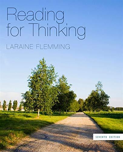Reading for Thinking: Laraine E. Flemming
