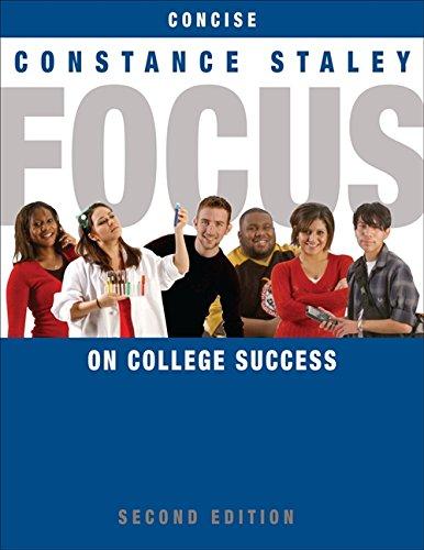 9780495906421: FOCUS on College Success, Concise Edition (Textbook-specific CSFI)
