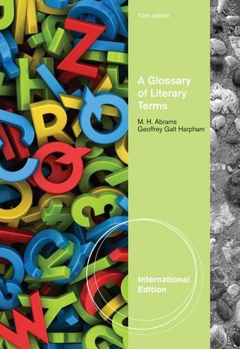 9780495906599: A Glossary of Literary Terms