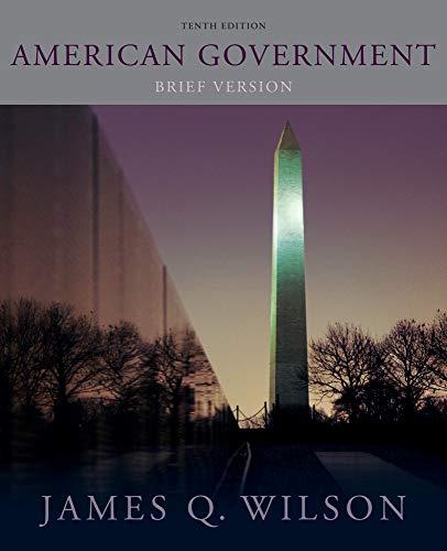 9780495906780: American Government: Brief Version