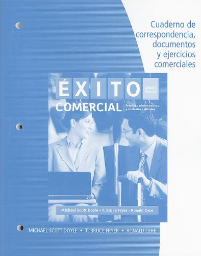 9780495907794: Student Activities Manual for Doyle/Fryer/Cere's Éxito comercial