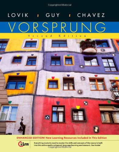 9780495908036: Vorsprung, Enhanced Edition (World Languages)
