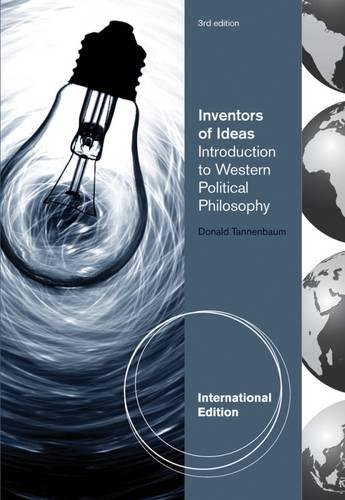 9780495908388: Inventors of Ideas: Introduction to Western Political Philosophy