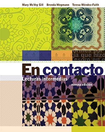 9780495908555: Student Activities Manual for Gill/Wegmann/Mendez-Faith's En contacto: Lecturas intermedias
