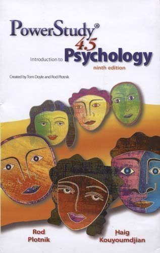 9780495908661: Introduction to Psychology Powerstudy 4.5