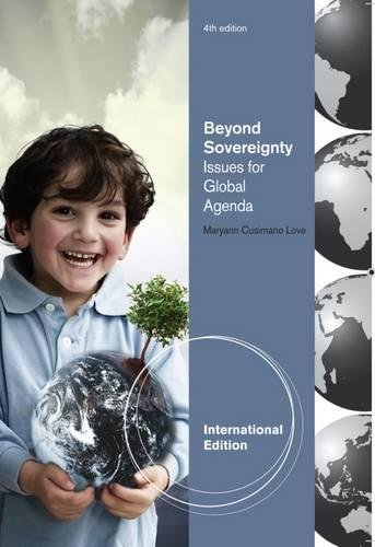 9780495908944: Beyond Sovereignty: Issues for a Global Agenda
