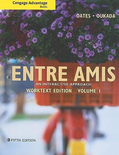 9780495909026: Cengage Advantage Books: Entre Amis, Volume 1 (World Languages)