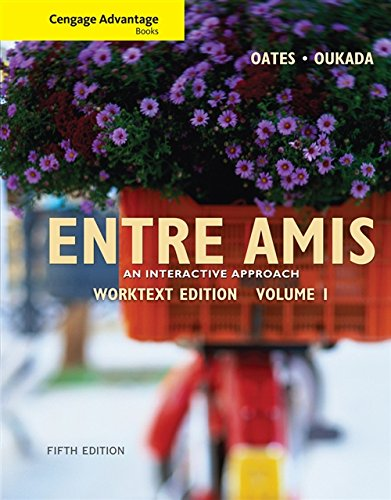 9780495909026: Cengage Advantage Books: Entre Amis, Volume 1 (World Languages)