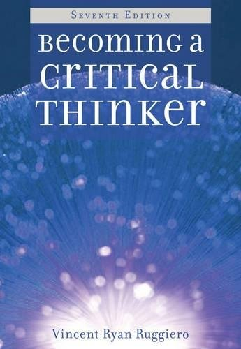 9780495909057: Becoming a Critical Thinker