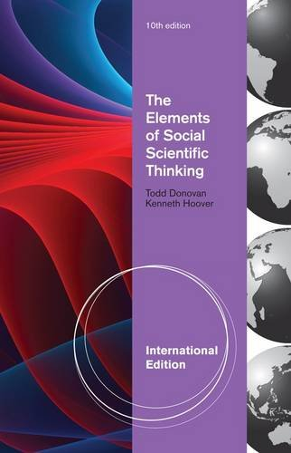 9780495909095: The Elements of Social Scientific Thinking, International Edition