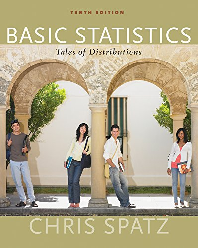 Cengage Advantage Books: Basic Statistics: Tales of: Chris Spatz