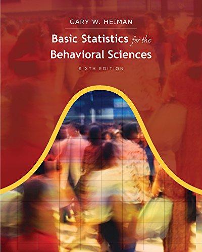 9780495909941: Cengage Advantage Books: Basic Statistics for the Behavioral Sciences