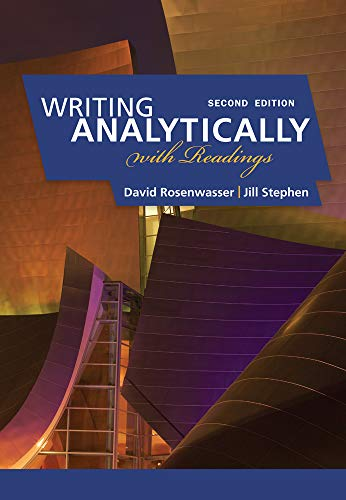 9780495910077: Writing Analytically with Readings