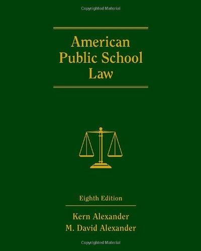 9780495910497: American Public School Law