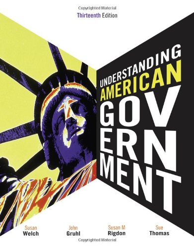 9780495910503: Understanding American Government
