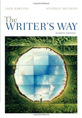 9780495911449: The Writer's Way