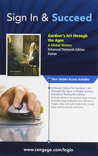 Gardner's Art Through the Ages: A Global History ArtStudy Online Access Card (Enhanced 13th ...