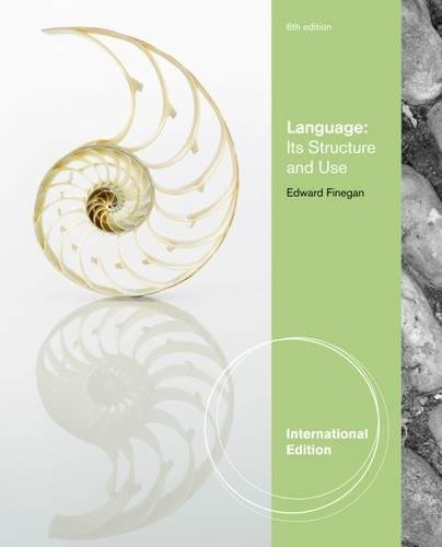 9780495912149: Language Its Structure And Use