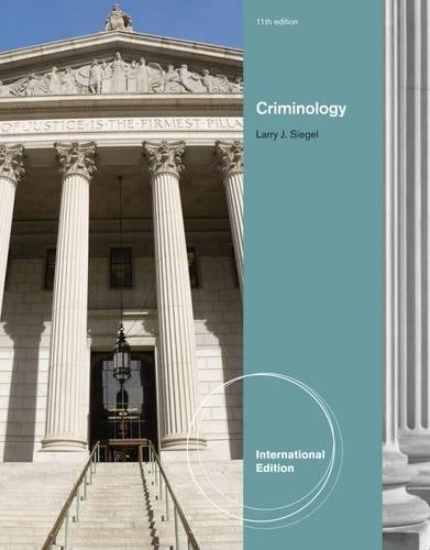 9780495912644: Criminology